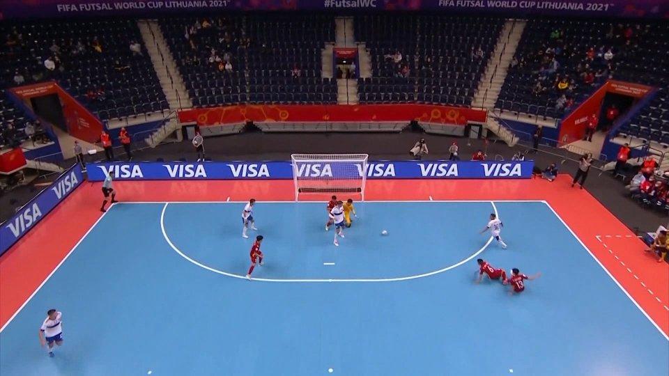 Mondiale Futsal, Russia e Marocco ai quarti