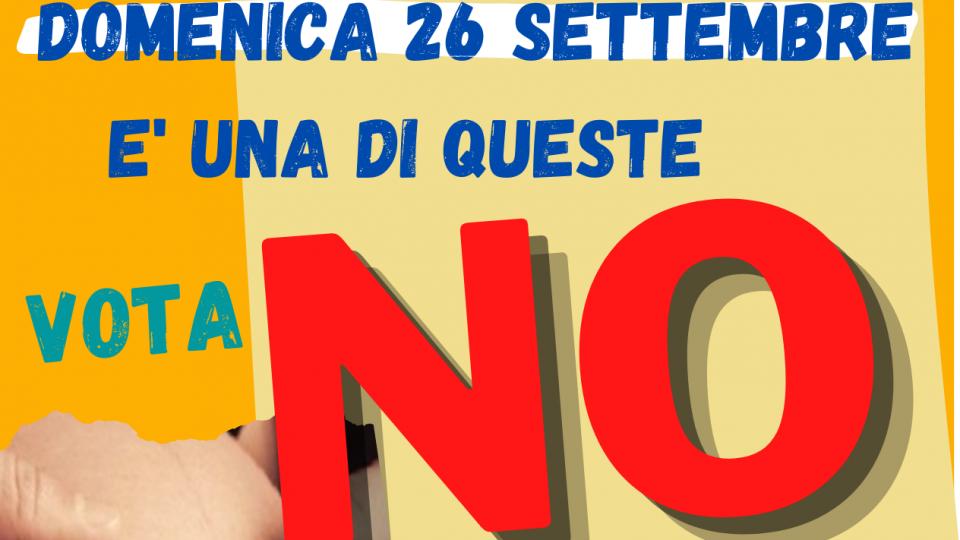 Centro Sociale Sant'Andrea: al referendum l'invito a votare No