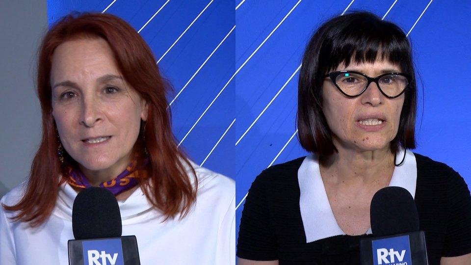 Karen Pruccoli e Antonella Mularoni