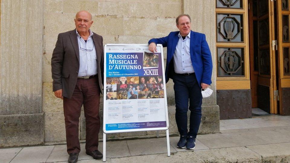 Al via a San Marino la nuova edizione della Rassegna Musicale d'Autunno