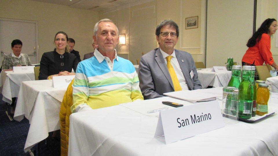 Congresso e Assemblea EFPM: premiato Comitato Sammarinese Fair Play