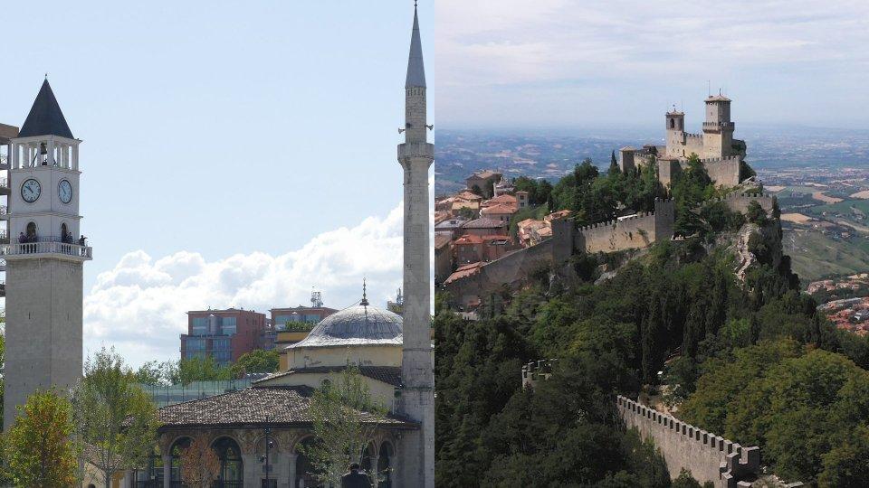 Tirana e San Marino