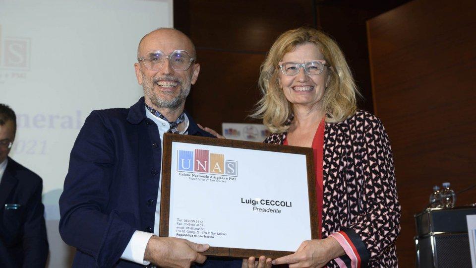 UNAS: Artigiani eleggono presidente Luigi Ceccoli all'assemblea generale l'associazione elegge il direttivo