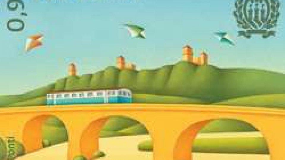Filatelia: una serie dedicata al ponte ferroviario di Valdragone