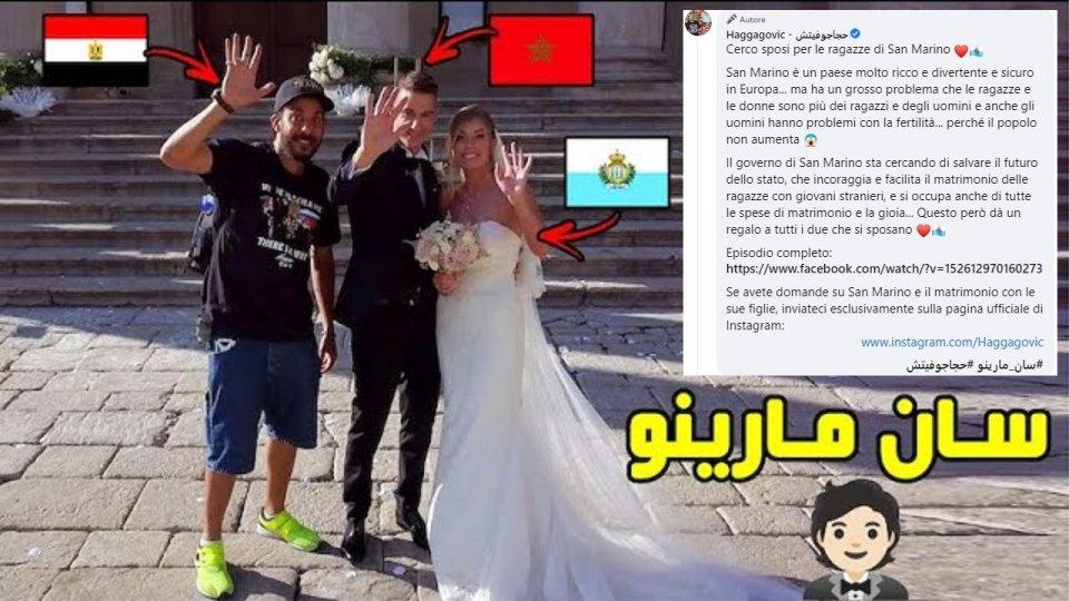 Arabi in cerca di moglie sammarinese sui social network: la Segreteria al Turismo pone un alert sulla fake news