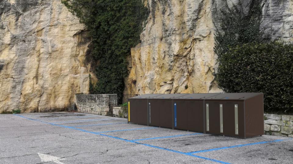Posizionate le isole ecologiche per gli operatori economici dei centri storici di Borgo Maggiore e Città di San Marino