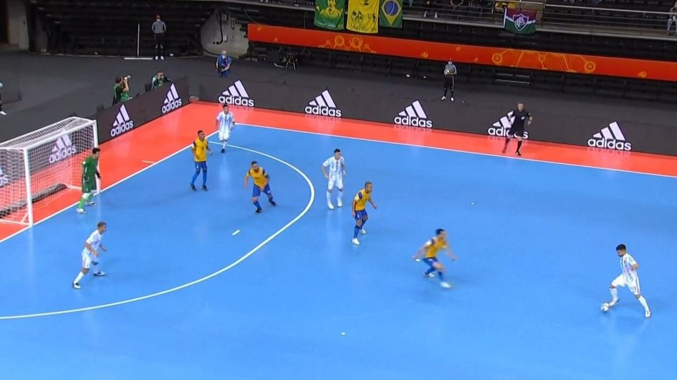 Mondiali Futsal, l'Argentina batte il Brasile ed è in finale