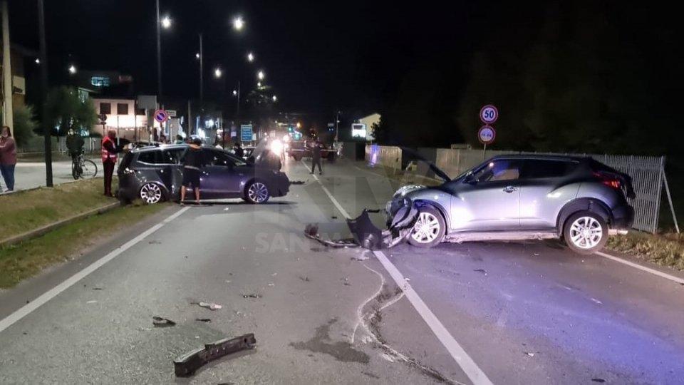 Incidente a Savignano: tutte al Bufalini le persone coinvolte