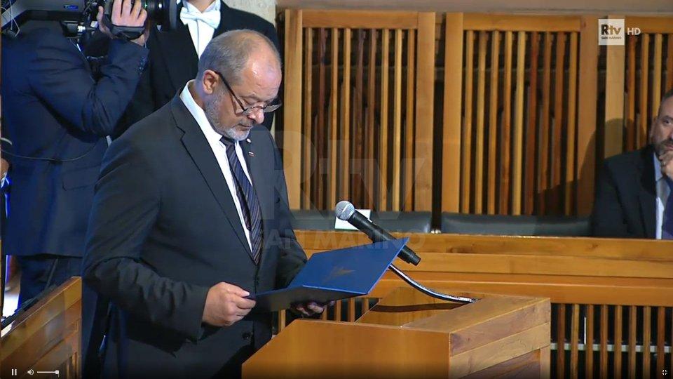 L'orazione ufficiale del Presidente del Consiglio di Stato della Repubblica di Slovenia, Alojz Kovšca