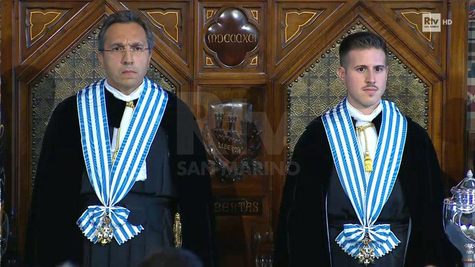 1° ottobre: Francesco Mussoni e Giacomo Simoncini sono saliti alla Suprema Magistratura dello Stato