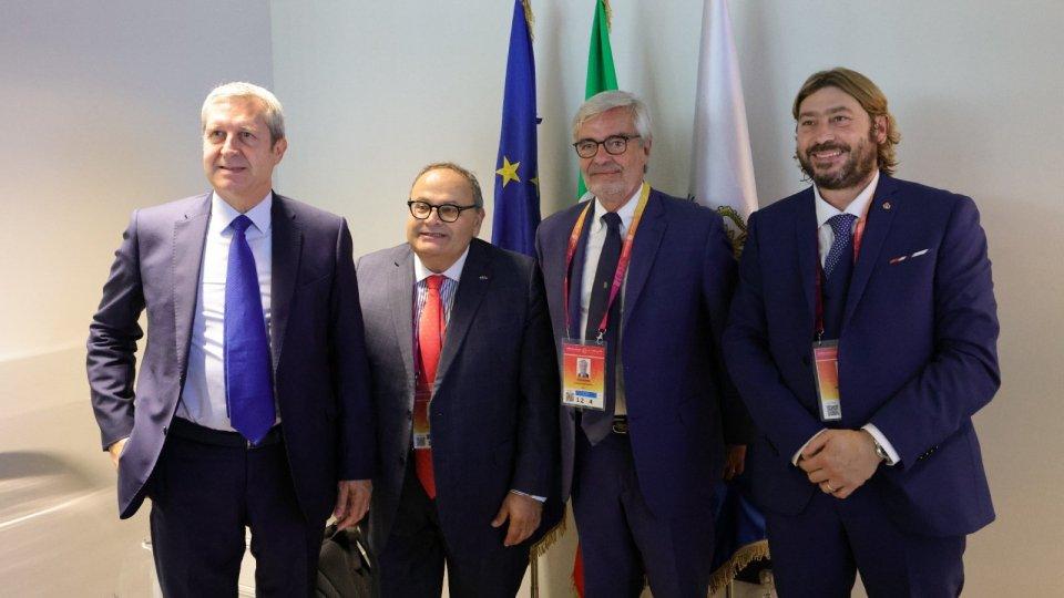 Protocollo di intesa e cooperazione tra Italia - San Marino a Expo 2020 Dubai