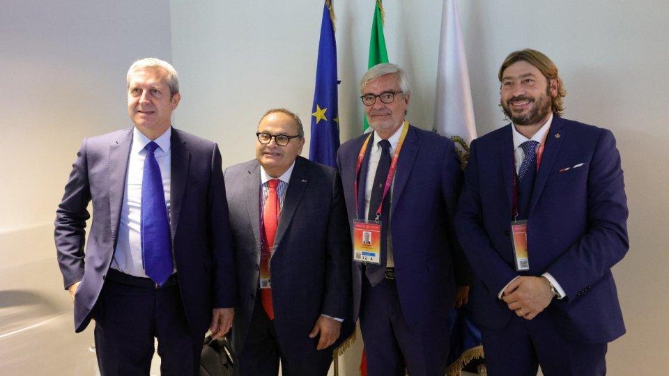 Dubai, firmato protocollo d'Intesa tra i Commissariati Generali per la partecipazione d'Italia e San Marino