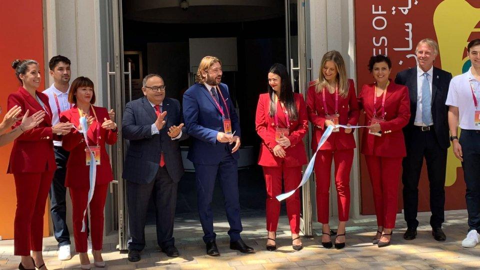 Inaugurato il Padiglione di San Marino a Expo Dubai 2020