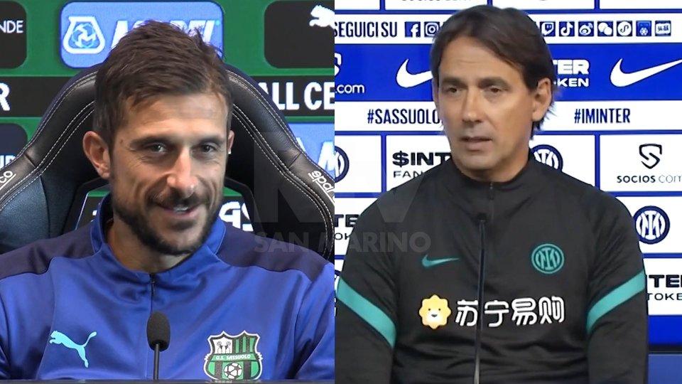 Alessio Dionisi - Simone InzaghiAlessio Dionisi - Simone Inzaghi