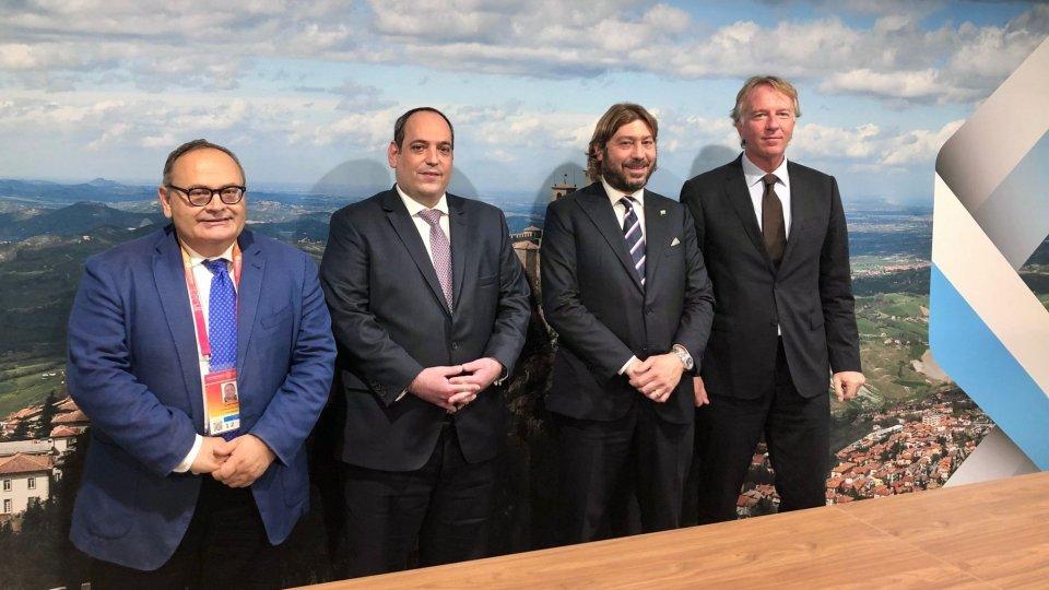 Expo 2020: Pedini Amati incontra il Segretario Generale del BIE e visita i padiglioni delle altre Nazioni