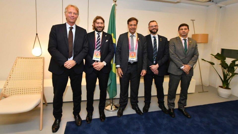 Expo, Pedini Amati incontra il ministro del turismo brasiliano: presto un accordo di cooperazione