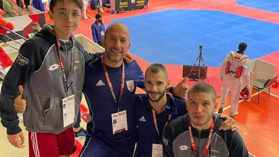 Taekwondo San Marino: team bianco-azzurro buona prova in Albania al Tirana Open 2021 (G-1)