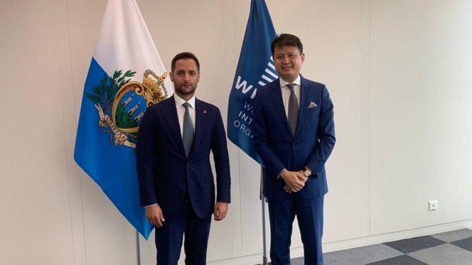 Proprietà intellettuale: Righi a Ginevra all'Assemblea WIPO