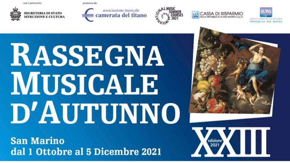Edoardo Giovanni Parente e Gioele Balestrini in Percussion...canto