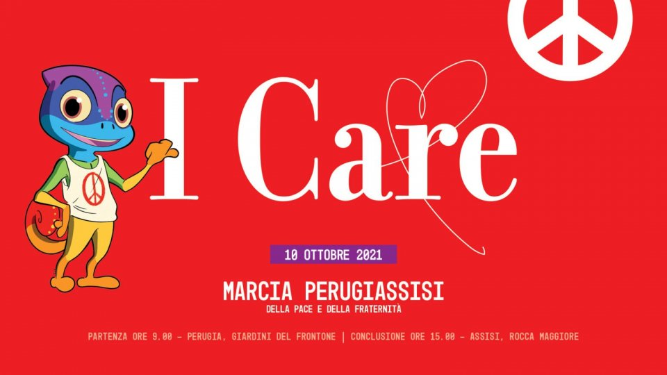 """""""I CARE"""" la cura è il nuovo nome della Pace!"""