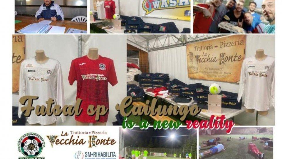Calcio 5 – Futsal. È nata una nuova squadra di calcio5 in Repubblica, Futsal sp Cailungo