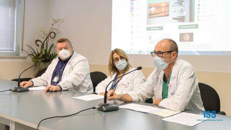 Sergio Rabini, Raffaella Bracci e Antonio Battistini