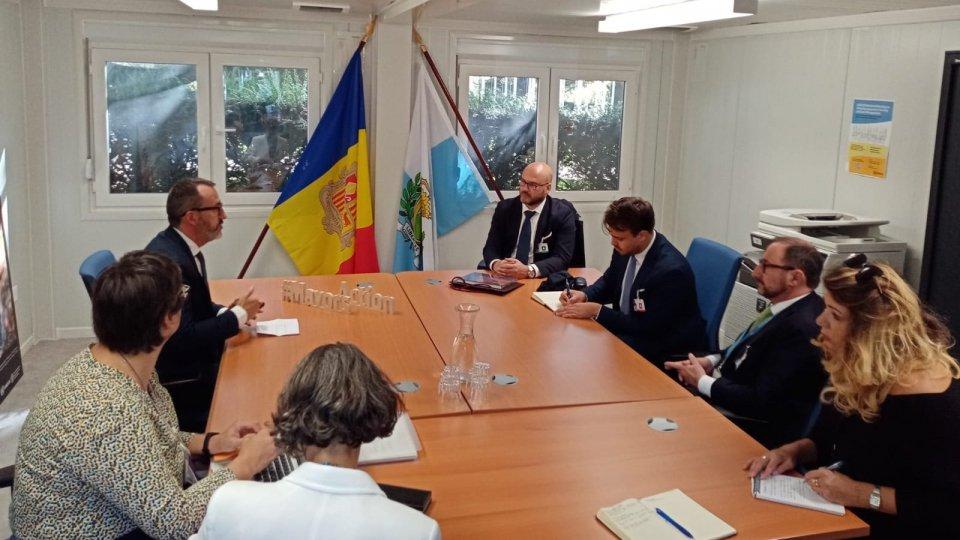 Giornata di incontri bilaterali per il Segretario di Stato per il Territorio e l'Ambiente Stefano Canti presso la sede ONU di Ginevra