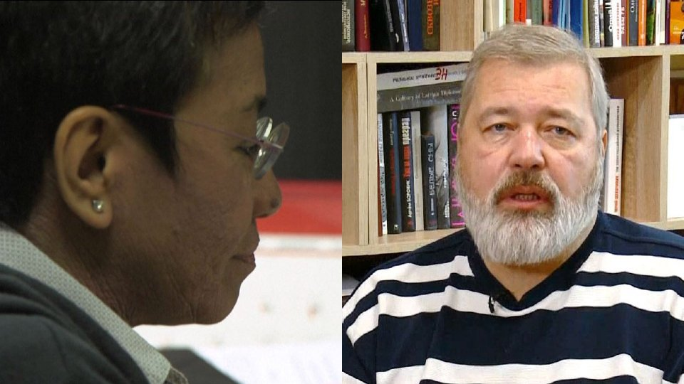 Il Nobel per la pace a due giornalisti, Maria Ressa e Dmitry Muratov