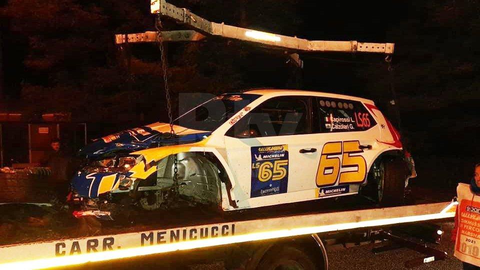 RallyLegend: incidente per Capirossi, vettura danneggiata