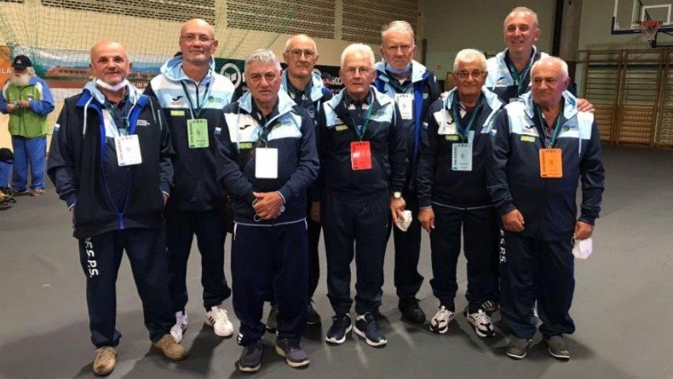 Mondiale Veterani: San Marino chiude al 5° posto