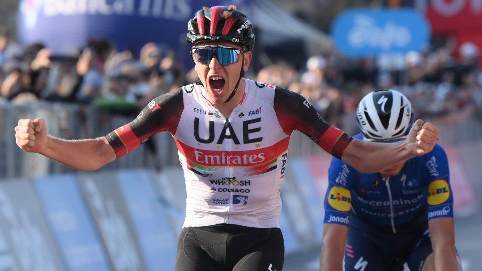 Pogacar vince il Giro di Lombardia
