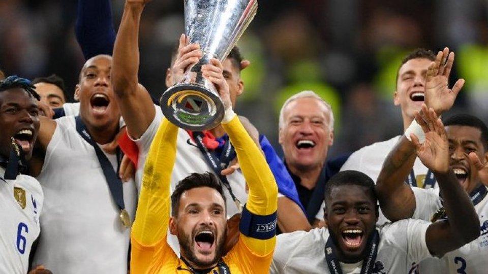 Nations League: la Francia batte 2-1 la Spagna in finale