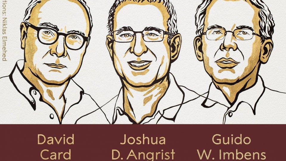 Nobel per l'economia a Card, Angrist e Imbens