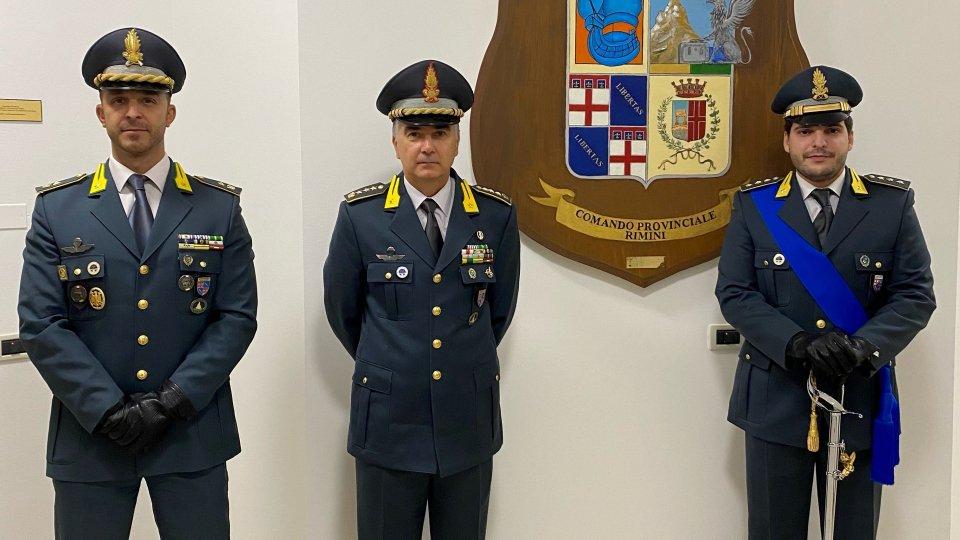 Nuovo ufficiale al comando provinciale della Guardia di Finanza
