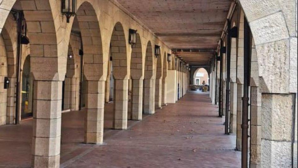Portici di Borgo Maggiore: al via il 20 di ottobre i lavori di manutenzione straordinaria