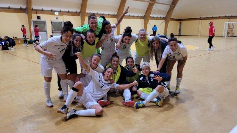 Futsal, successo storico per le Titane; si sbloccano gli Under 16, tre su tre per la Primavera femminile