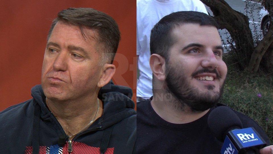 Mirko Tomassoni e Bryan Toccaceli