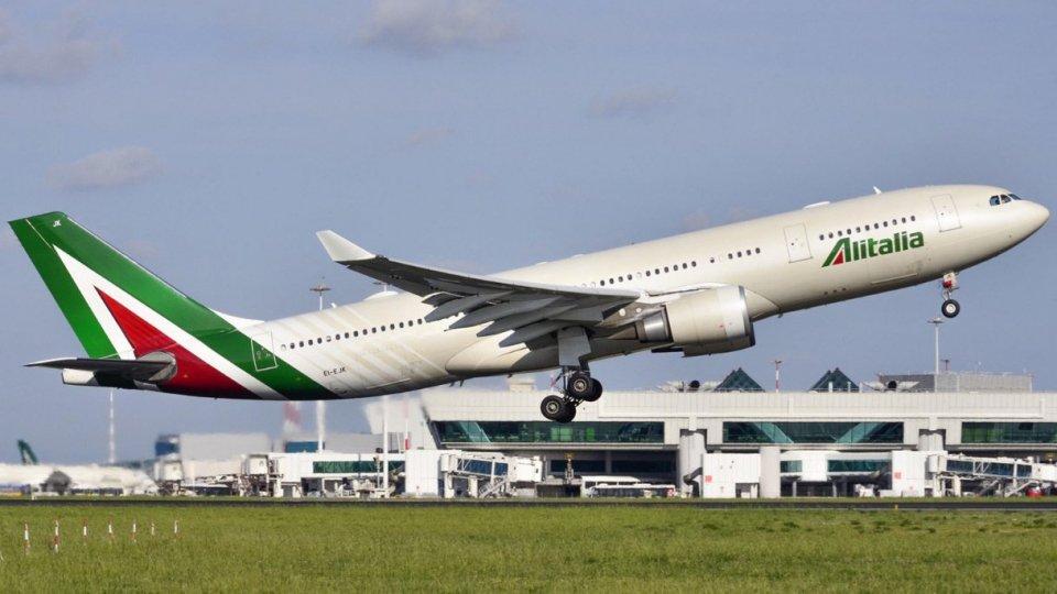 Alitalia: oggi l'ultimo volo