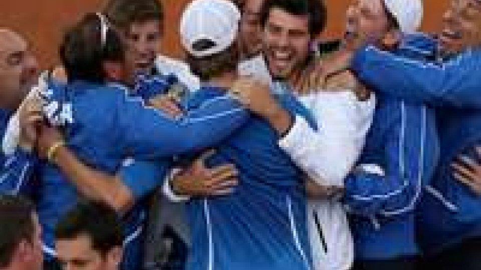 Coppa Davis: Italia in semifinale dopo 16 anniCoppa Davis: Italia in semifinale dopo 16 anni