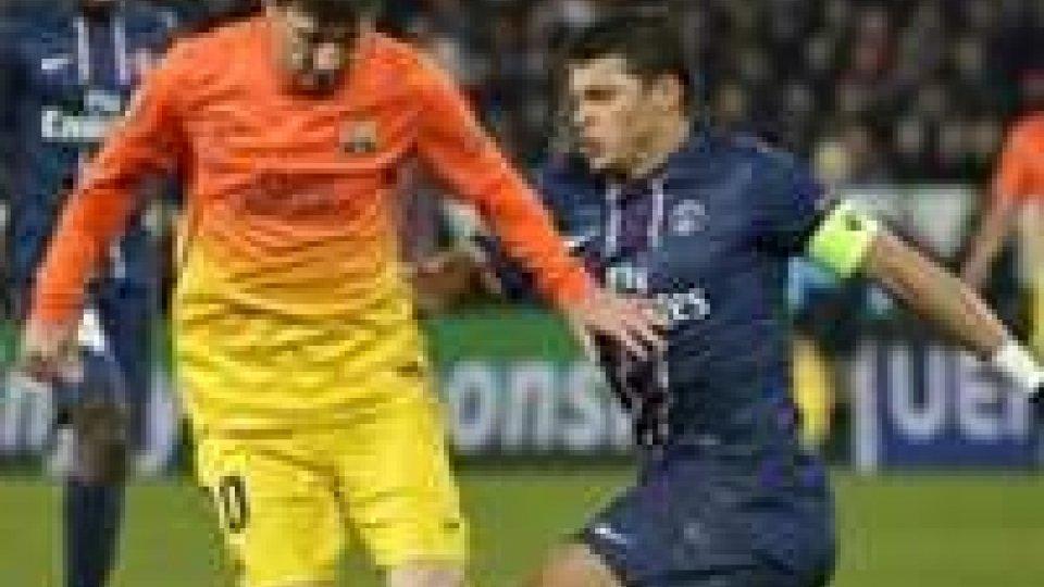Champions: al Camp Nou c'è Barcellona - PSG