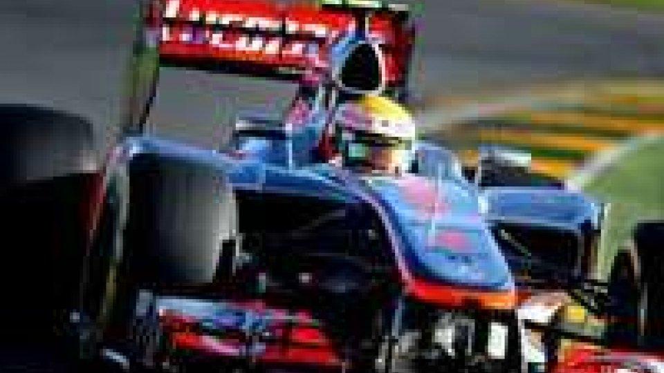 Gp Valencia: flop Ferrari, pole Vettel
