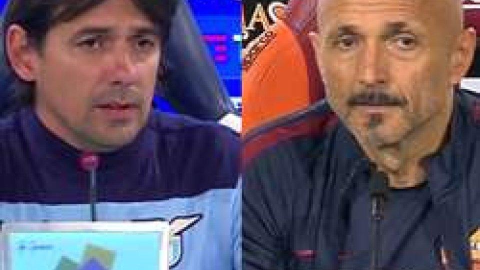 Inzaghi e SpallettiCoppa Italia, Roma-Lazio per la finale: le parole di Inzaghi e Spalletti