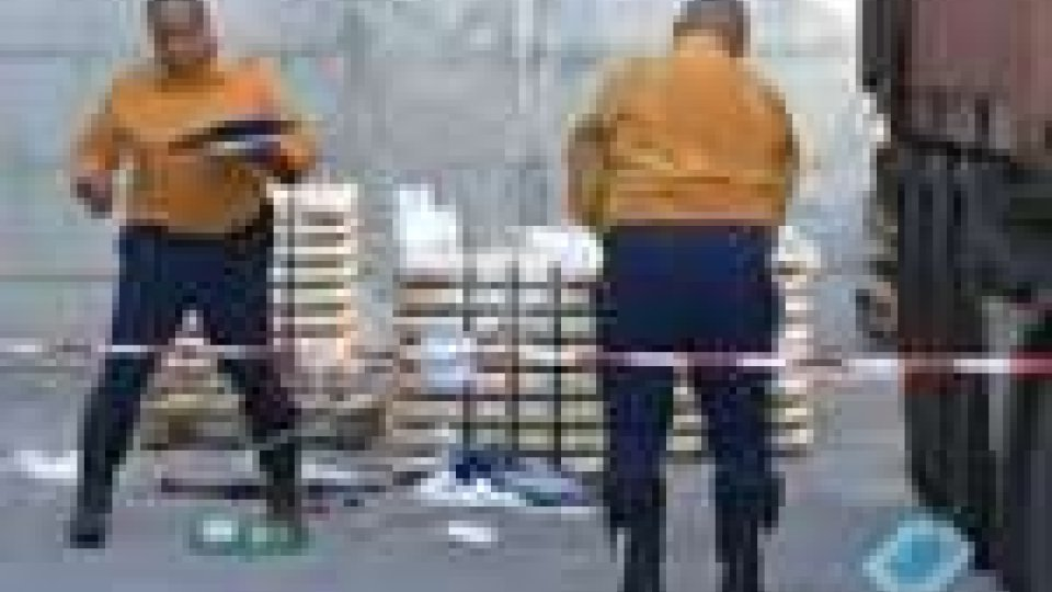 San Marino - Incidente mortale nelle zona artigianale di Dogana Bassa