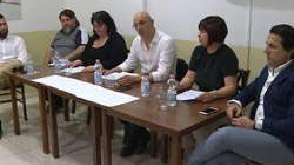 """La conferenza stampaFuoriusciti PSD in un nuovo soggetto politico: """"Inclusivi e propositivi"""""""