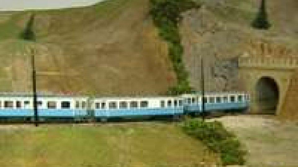 ATBA: inaugurazione del plastico della ferrovia elettrica San Marino - RiminiATBA: inaugurazione del plastico della ferrovia elettrica San Marino - Rimini