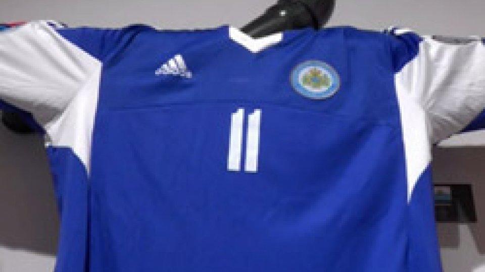 Maglia Nazionale San MarinoTutte le maglie della nazionali...e la prima è San Marino