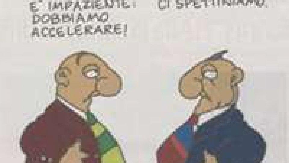 Dal quotidiano La Repubblica, una vignetta satirica che volevamo condividere con voi