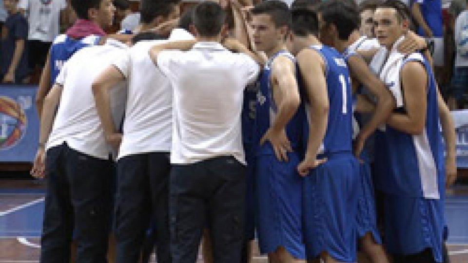 San Marino - GallesEurobasket under 16: San Marino si arrende 56-66 al Galles, ora caccia al bronzo