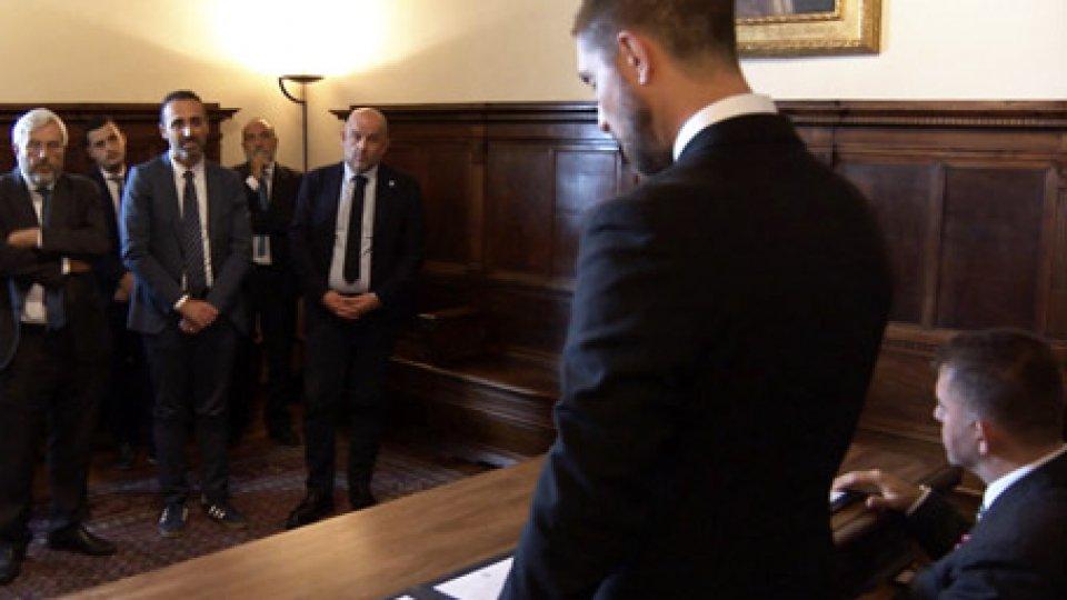 L'udienza con i Capitani ReggentiInformazione, Carlo Verna, presidente Odg, al seminario organizzato dalla Consulta