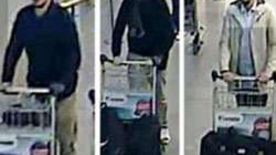 """I Kamikaze all'aeroportoAttentati Bruxelles: indagini a tutto campo; si cerca il """"quarto uomo"""""""